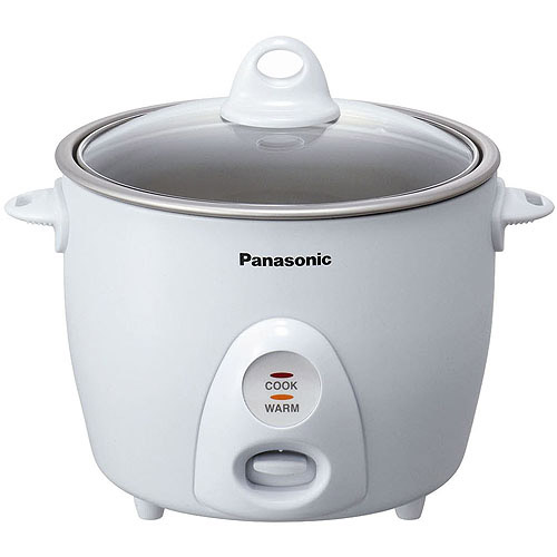 Panasonic 5.5-Cup Rice Cooker, White