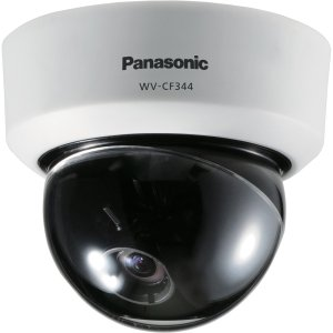 INDOOR FIXED ANALOG DOME CAMERA W/ 650 TVL ABS ELECTRICAL