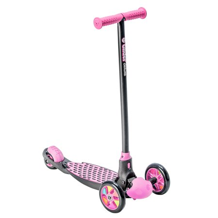 Yvolution Y Glider Deluxe Kids Kick Scooter