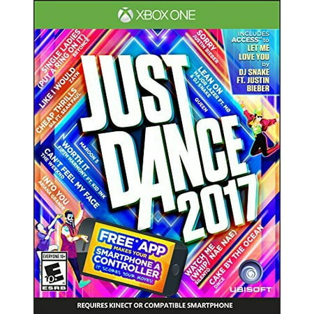 Just Dance 2017, Ubisoft, Xbox One, 887256023027 (Best Xbox Party Games)