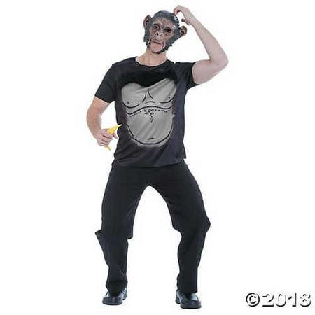 Men's Grab N Go Ape Costume - Ape Costume