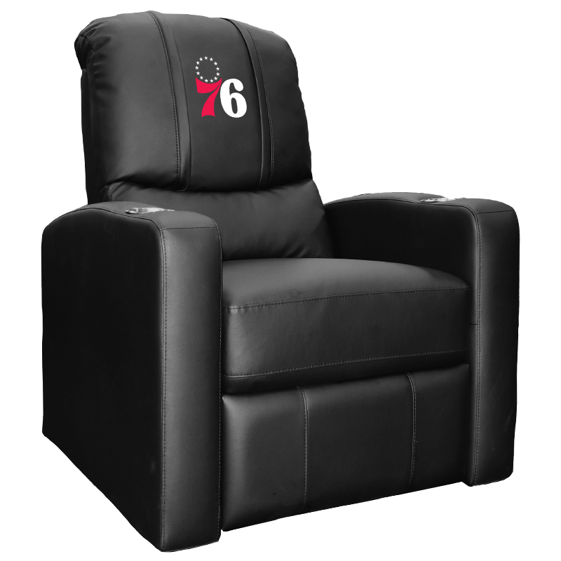 Philadelphia 76ers NBA Stealth Recliner with Primary Logo Panel