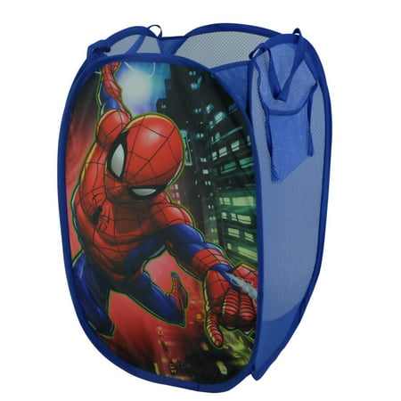 Marvel Spiderman Kids Foldable Pop Up Hamper, 1 Each