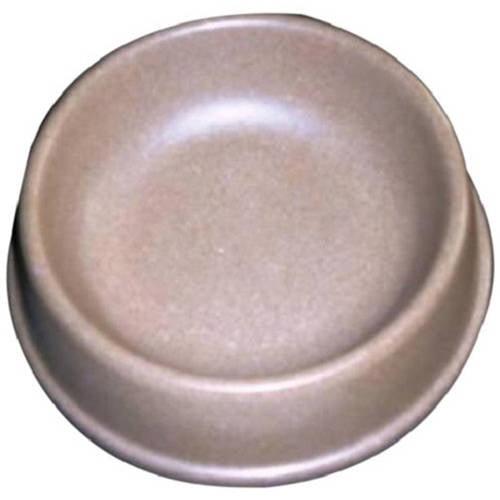 484007 Green Pet Bamboo Dog Bowl, Large Brown