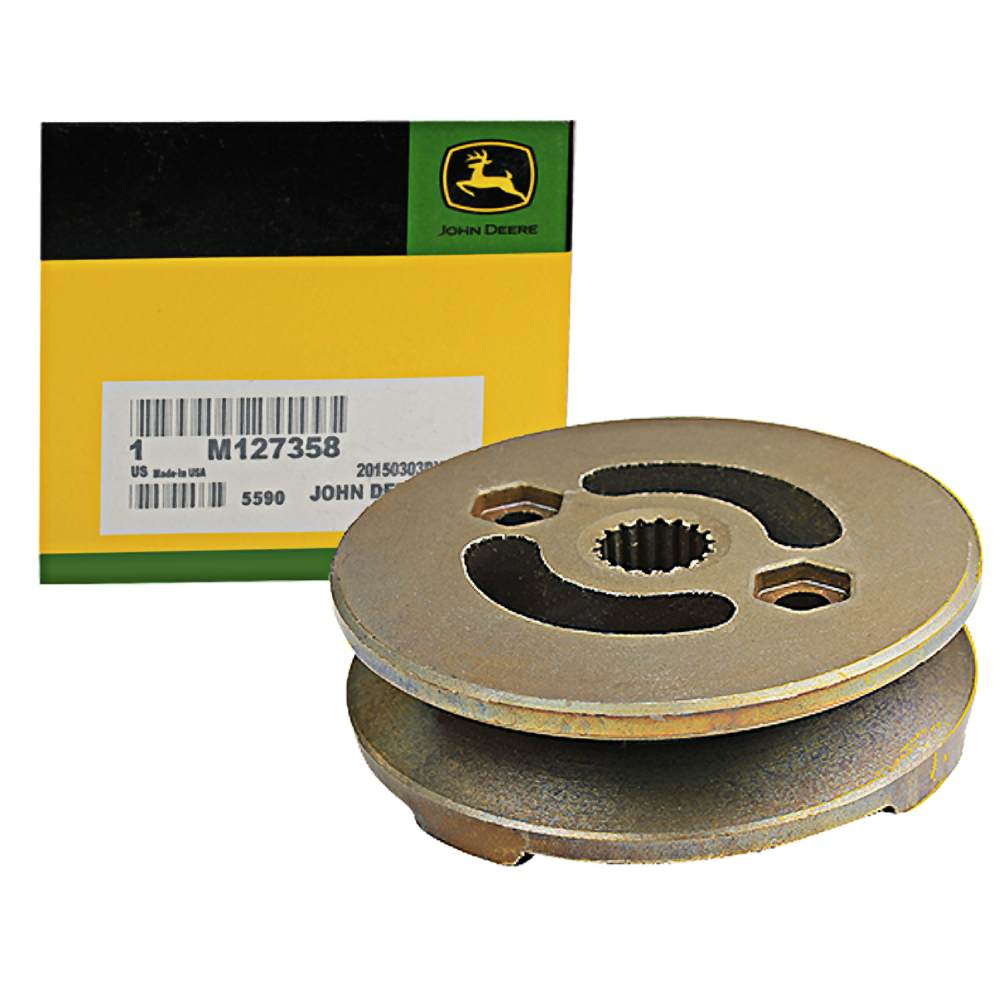 John Deere Original Equipment Pulley #M127358 by