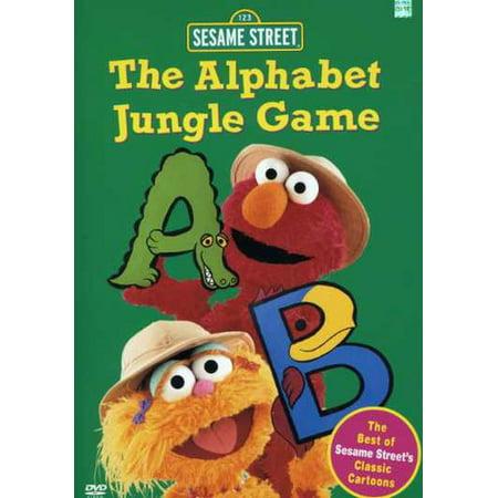 Jungle Games - The Alphabet Jungle Game (DVD)