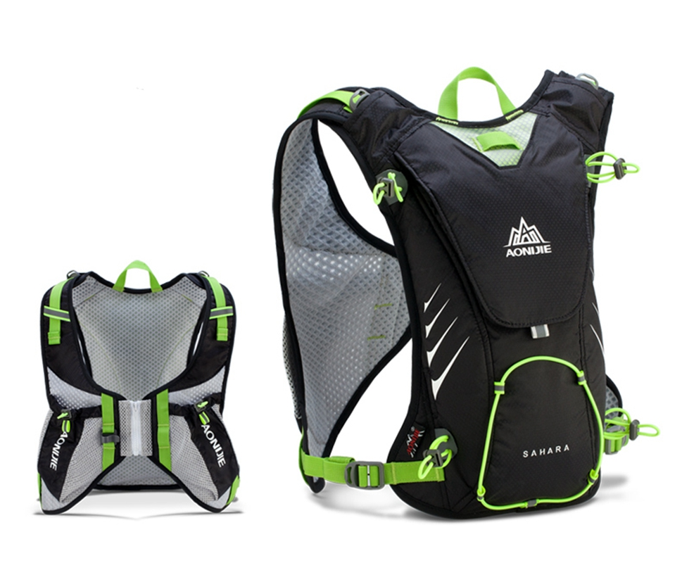 8L Sport Backpack Outdoor Close Fitting Waterproof Nylon Lightweight Bags for Running Marathon Cycling Hiking Hydration... by