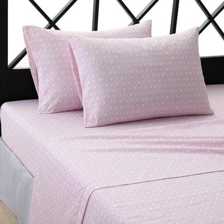 Pretty Flower Bed - Meili Flower Sheet Set by Ellison