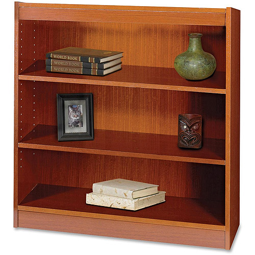 Safco 3-Shelf Square-Edge Bookcase