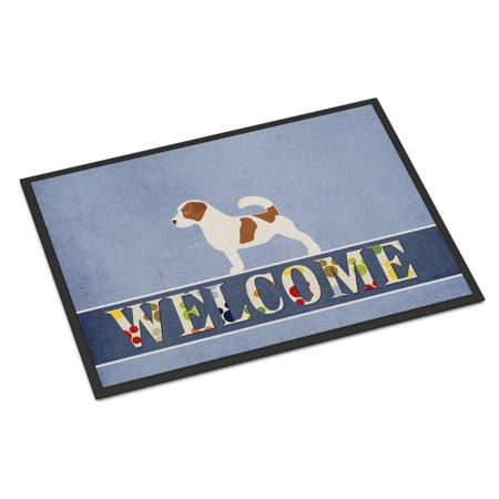 Jack Russell Terrier Welcome Door Mat