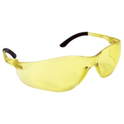 NSX TURBO SAFETY GLASSES YELLOW LENS POLYBAG (Yellow Safety Glasses)