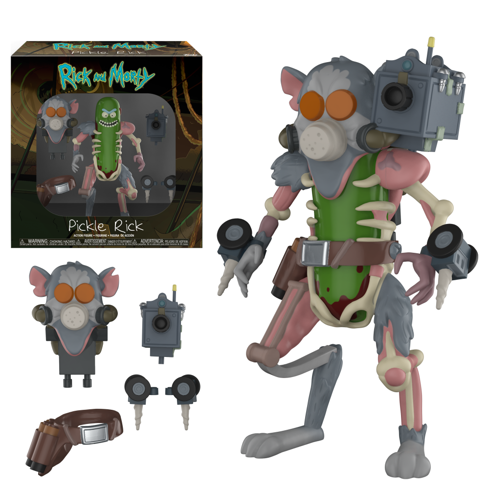 Funko Action Figure: Rick & Morty - Pickle Rick