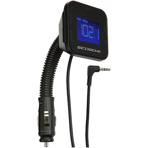 Scosche MTD3R Digital FM Transmitter with 12V Flex-Mount Neck