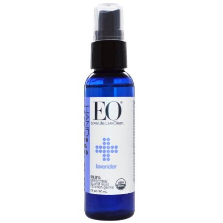EO Hand Sanitizer Spray, Lavender, 2 Fl Oz
