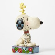 Jim Shore Peanuts 4044677 Personality Pose Snoopy and Woodstock by Enesco