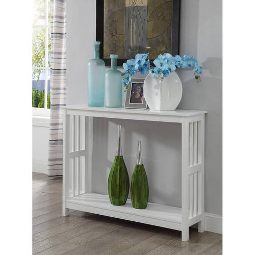 Convenience Concepts Mission Console Table, Multiple Colors by Convenience Concepts