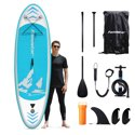 "Famistar 8'7"" Inflatable Stand Up Paddle Board SUP"