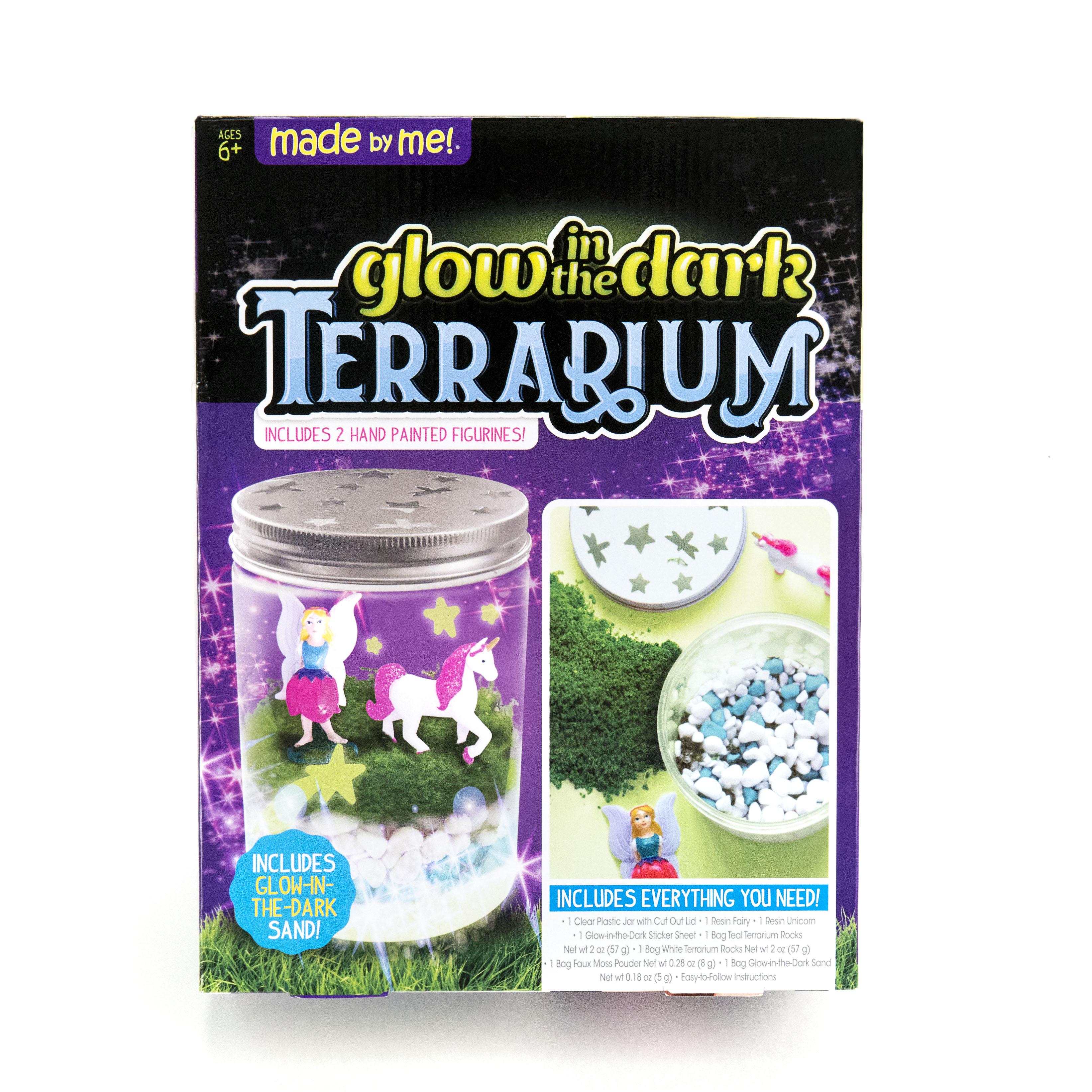 Horizon Group Made By Me Glow In The Dark Terrarium 1 Each