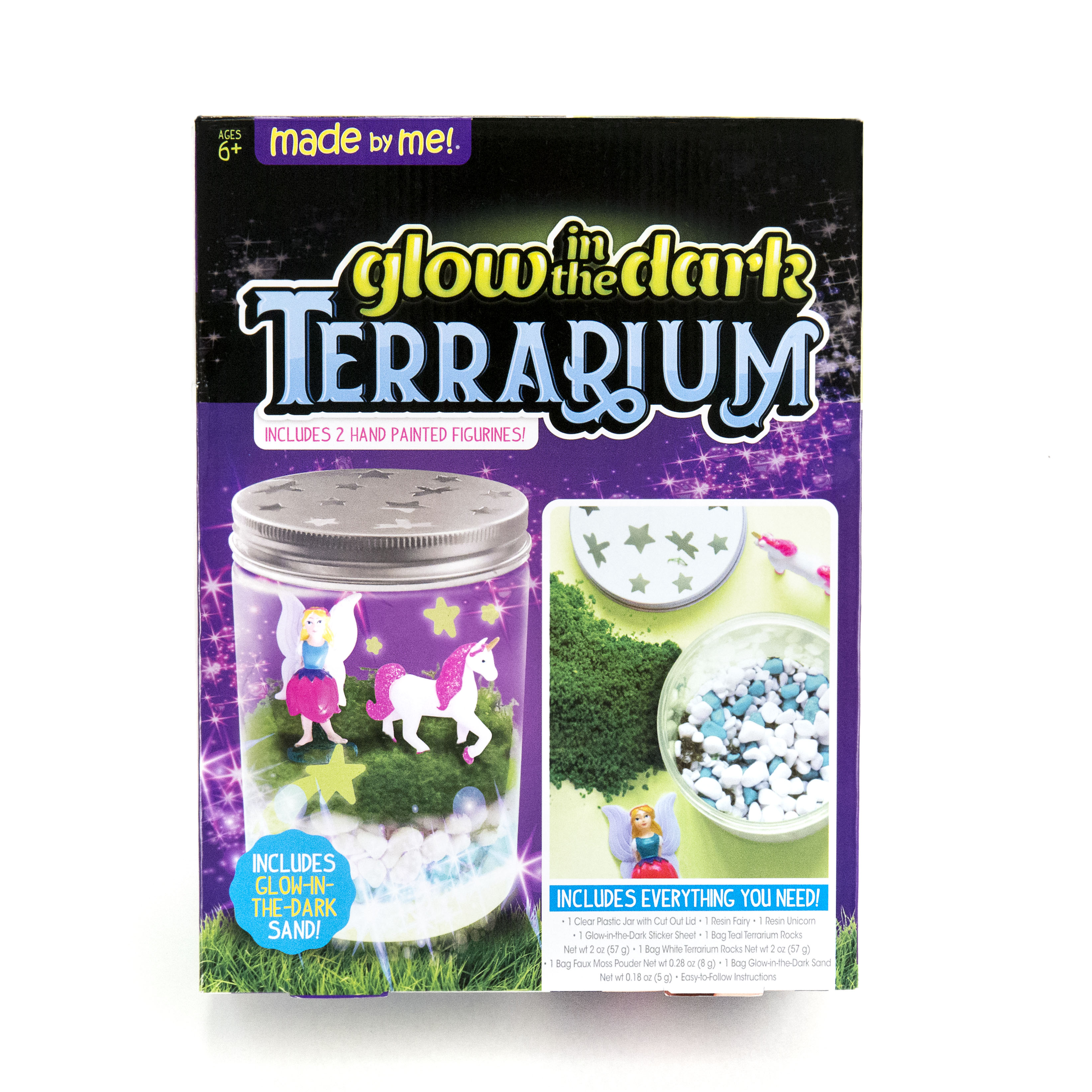 Made by Me Glow-in-the-Dark Terrarium by Horizon Group USA