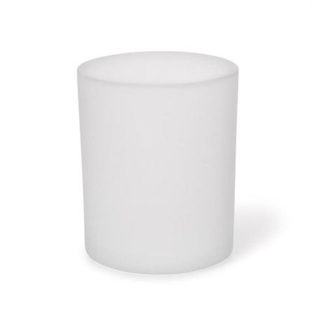 Votive Candle Holder - Frosted Glass - 12 pieces