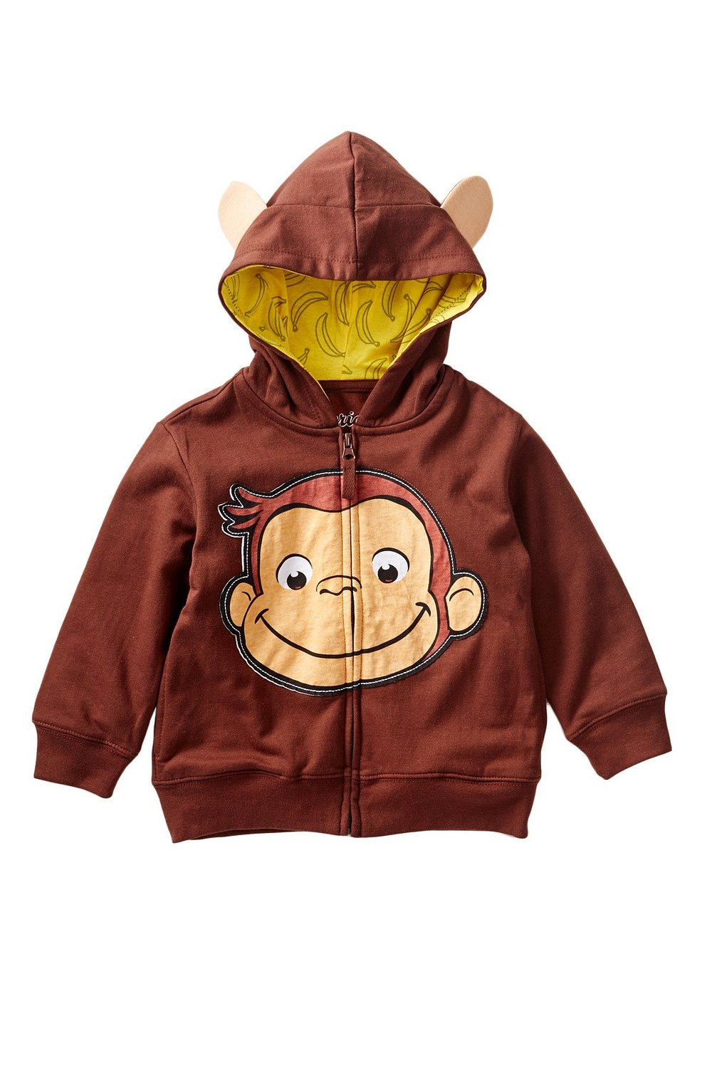 Curious George Little Boys Toddler Character Hoodie