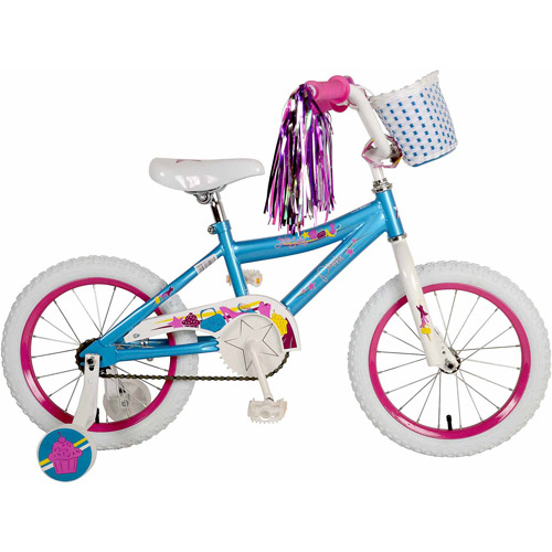 "16"" Piranha Little Lady Girls' Bicycle, Teal"