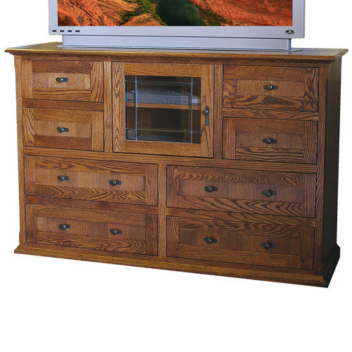 Forest Designs 8 Drawer TV Stand