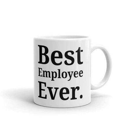 Best Employee Ever Office Coworker Coffee Tea Ceramic Mug Office Work Cup Gift 15