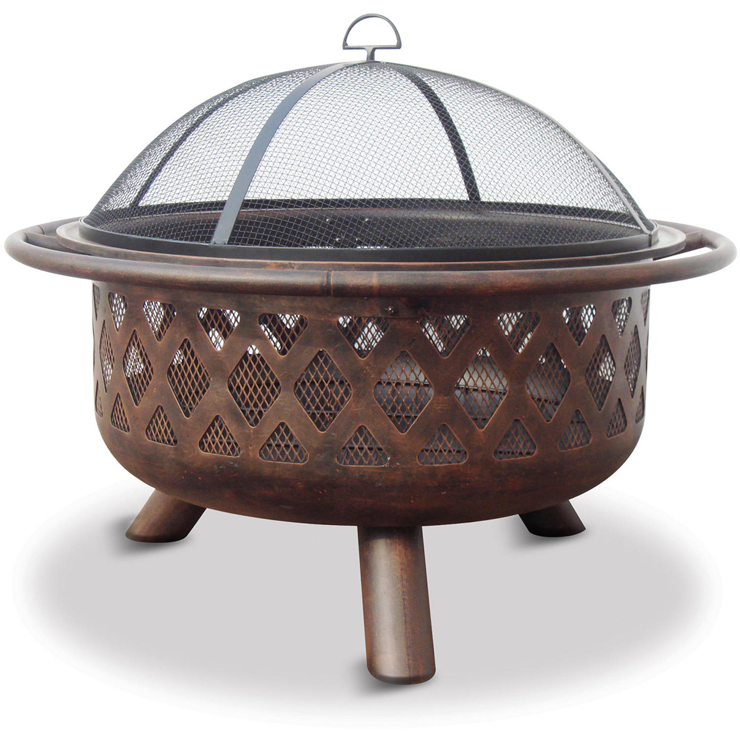 "32"" Uniflame Criss-Cross Fire Pit"