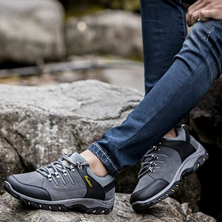 Gray Cn3Sk020 Outdoor Cotton Hiking Boots Sport Men'S Shoes For Camping Climbing Mountain... by