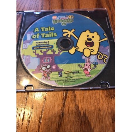 WOW WOW WUBBZY A Tale of Tails animated Nick Jr Nickelodeon DVD Ships N 24h