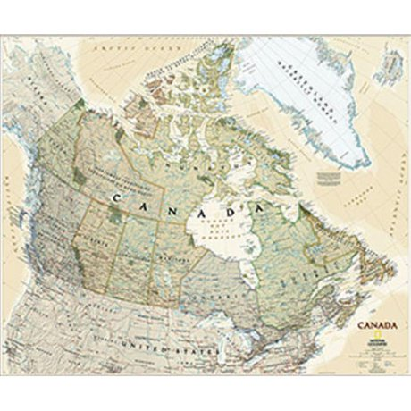 National geographic maps re01020532 canada executive wall map national geographic maps re01020532 canada executive wall map laminated sciox Image collections