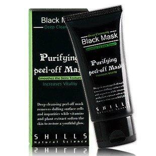 [Shills] Purifying  Black Peel-off Mask Deep Cleansing 50ml Blackhead Remover, Blackhead - Black Masks