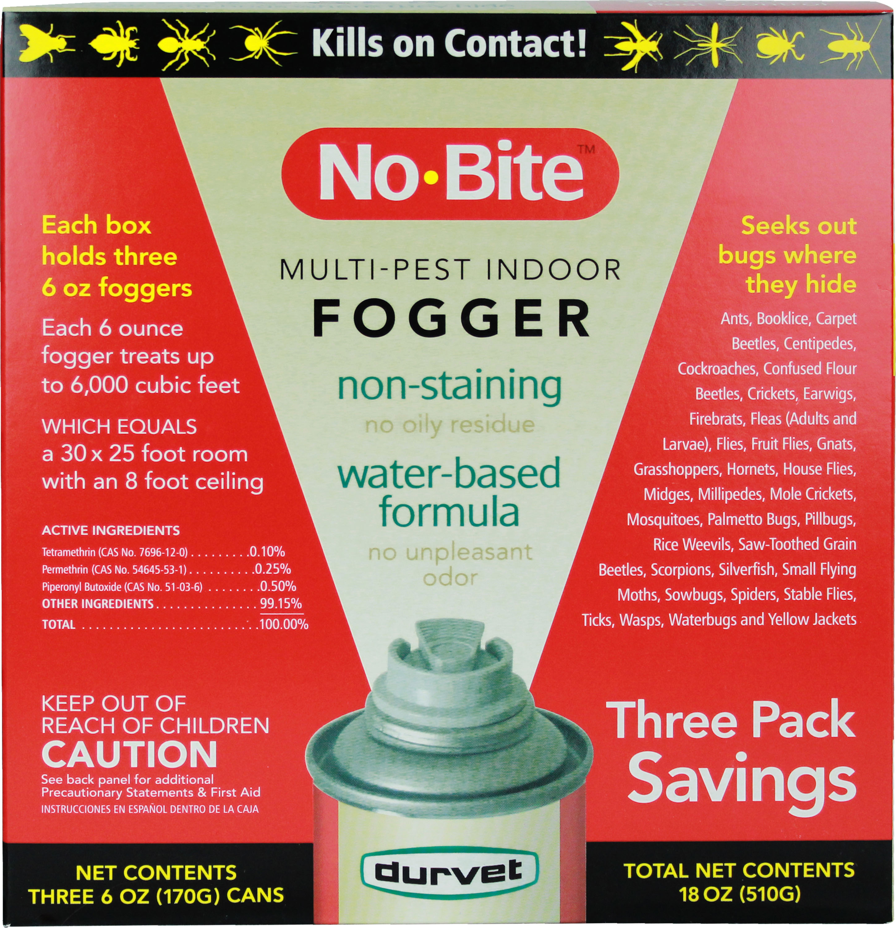 NO-BITE MULTI-PEST INDOOR FOGGER