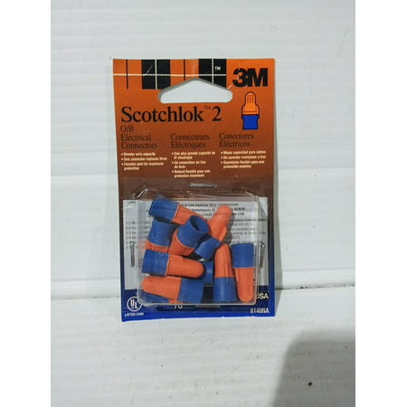 Scotchlok 2 Electrical Connectors 6140NA, By 3M