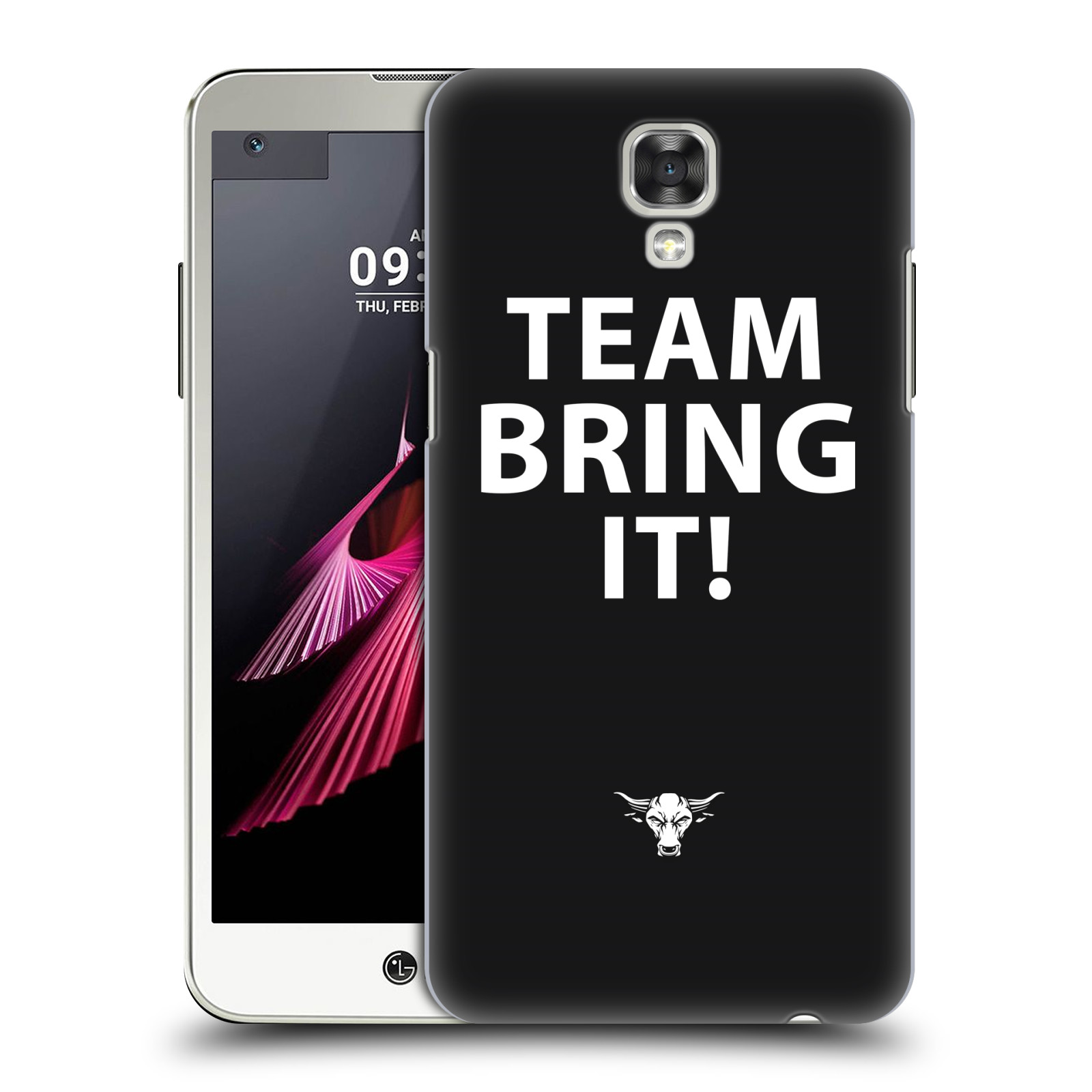 OFFICIAL WWE THE ROCK HARD BACK CASE FOR LG PHONES 1