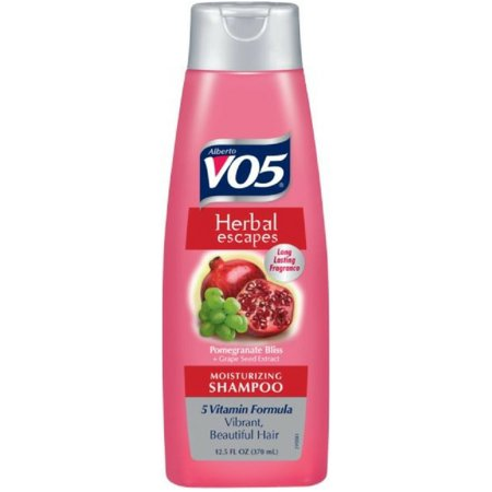VO5 Herbal escapes Moisturizing Shampoo, Pomegranate Bliss & Grapeseed 12.5 oz (Pack of 2)