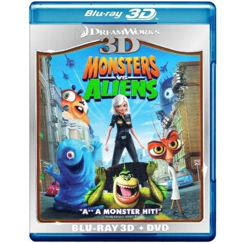 Monsters Vs. Aliens (3D Blu-Ray   DVD) (Widescreen)