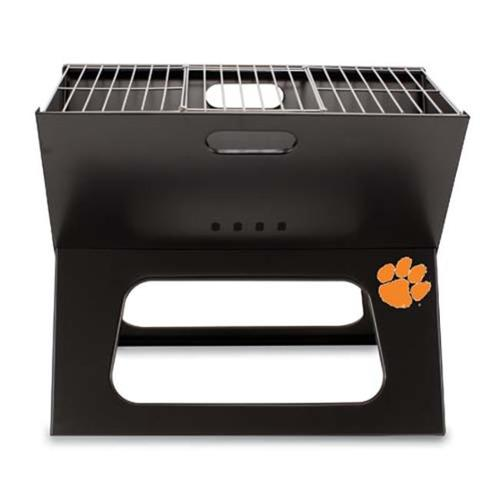 Picnic Time PT-775-00-175-104-0 Clemson Tigers X-Grill in Black