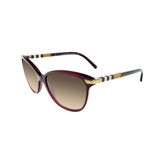fa6f1ae129d Burberry - Burberry Women s Gradient BE4216-301413-57 Red Butterfly  Sunglasses - Walmart.com