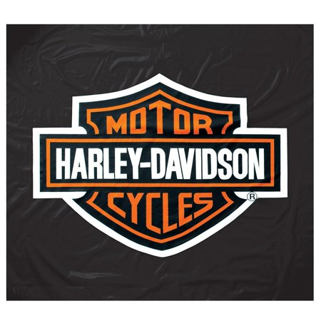 - Vinyl Pool Table Cover, Official Harley Davidson silkscreened logo graphic in center of cover By Harley-Davidson