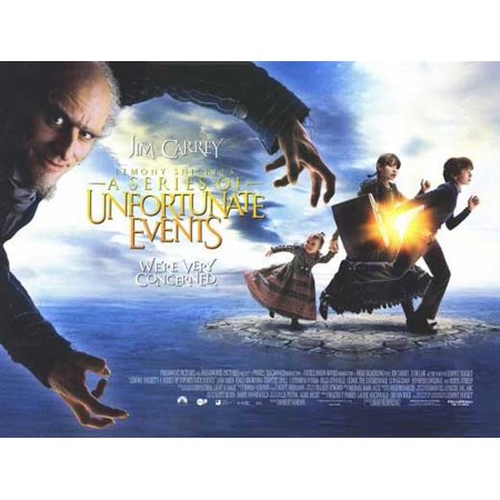 Lemony Snicket's A Series of Unfortunate Events POSTER Movie UK A Mini Promo](Uk Halloween Events)