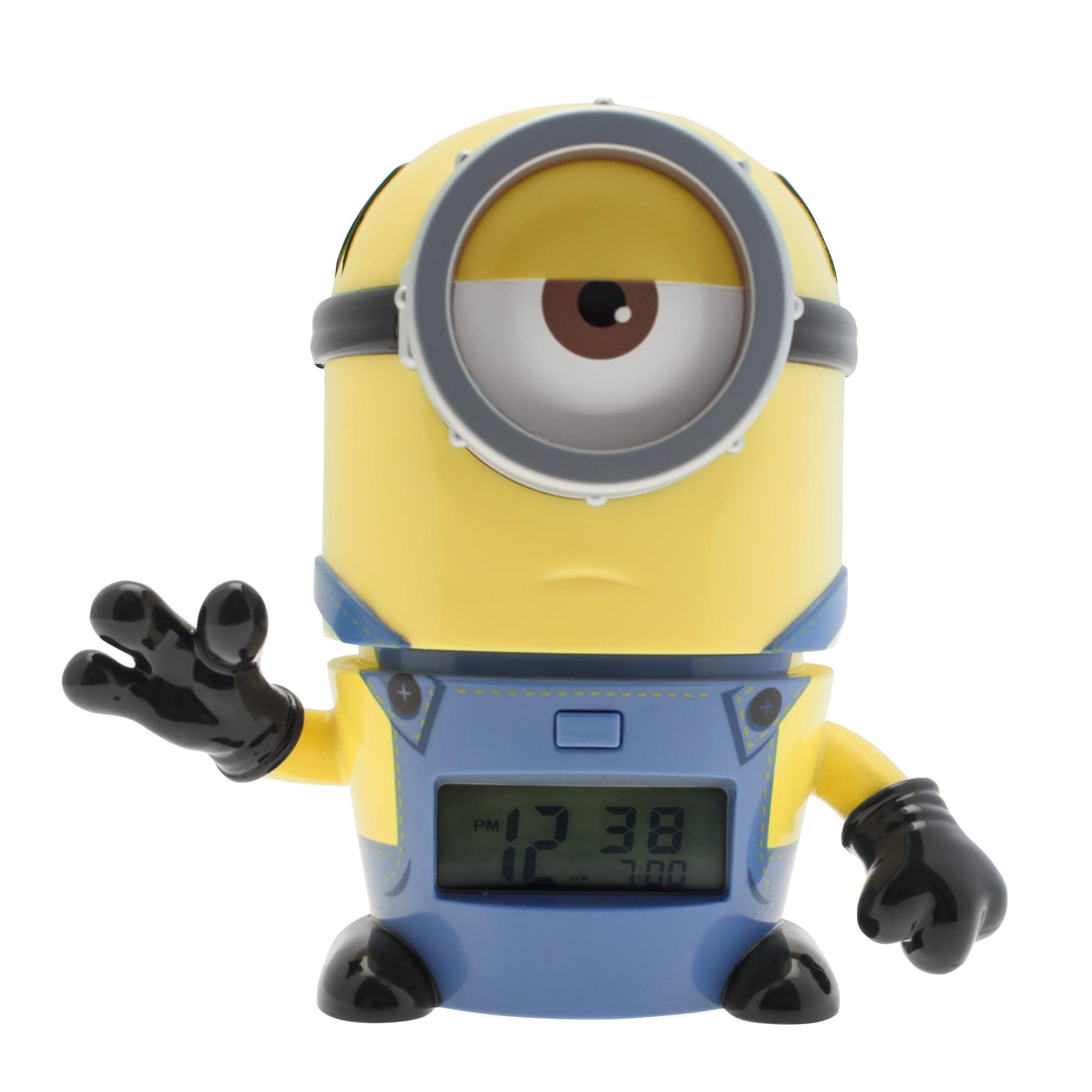"""BulbBotz Despicable Me 3 Mel 5.5"""" clock by ClicTime"""