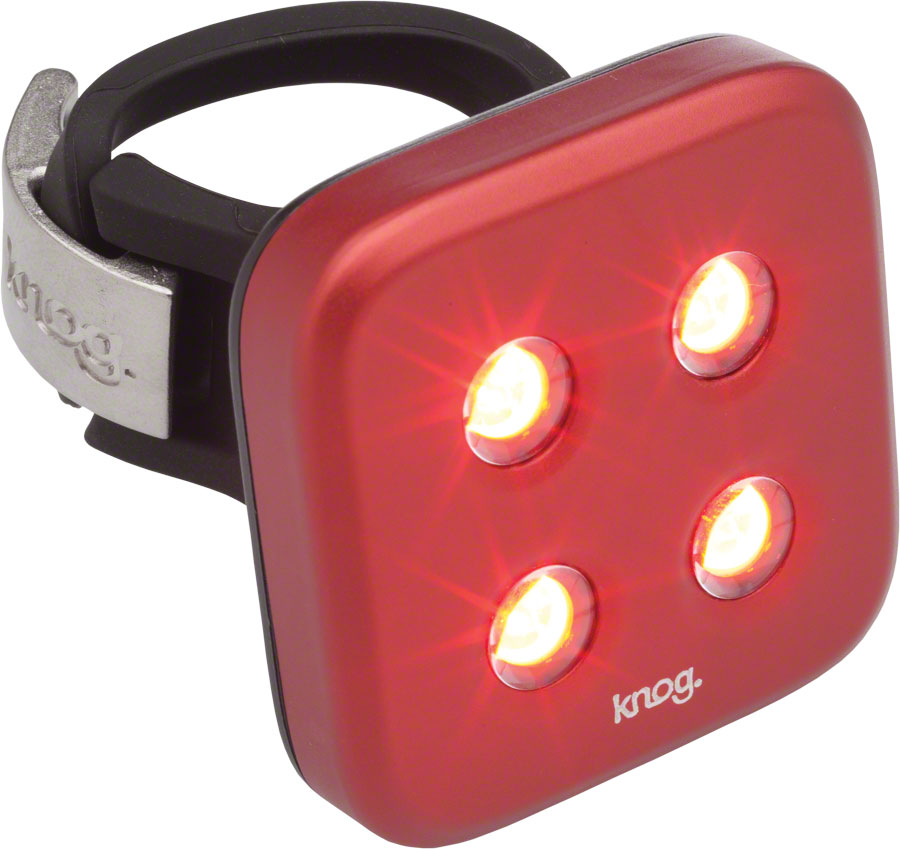 KNOG Blinder 4 Dots USB Rechargeable Taillight: Red LED~ ...