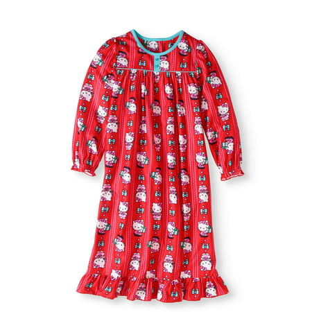 Girls' Holiday Granny - Holiday Nightgown