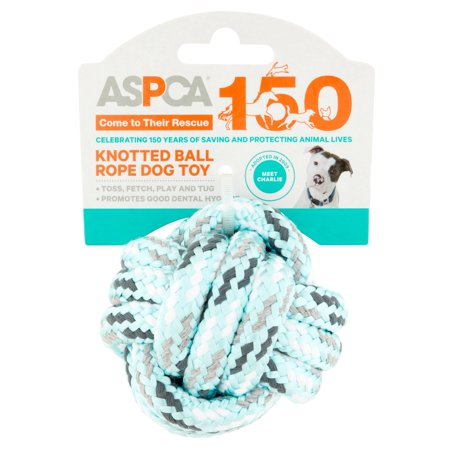 ASPCA Knotted Ball Rope Dog Toy