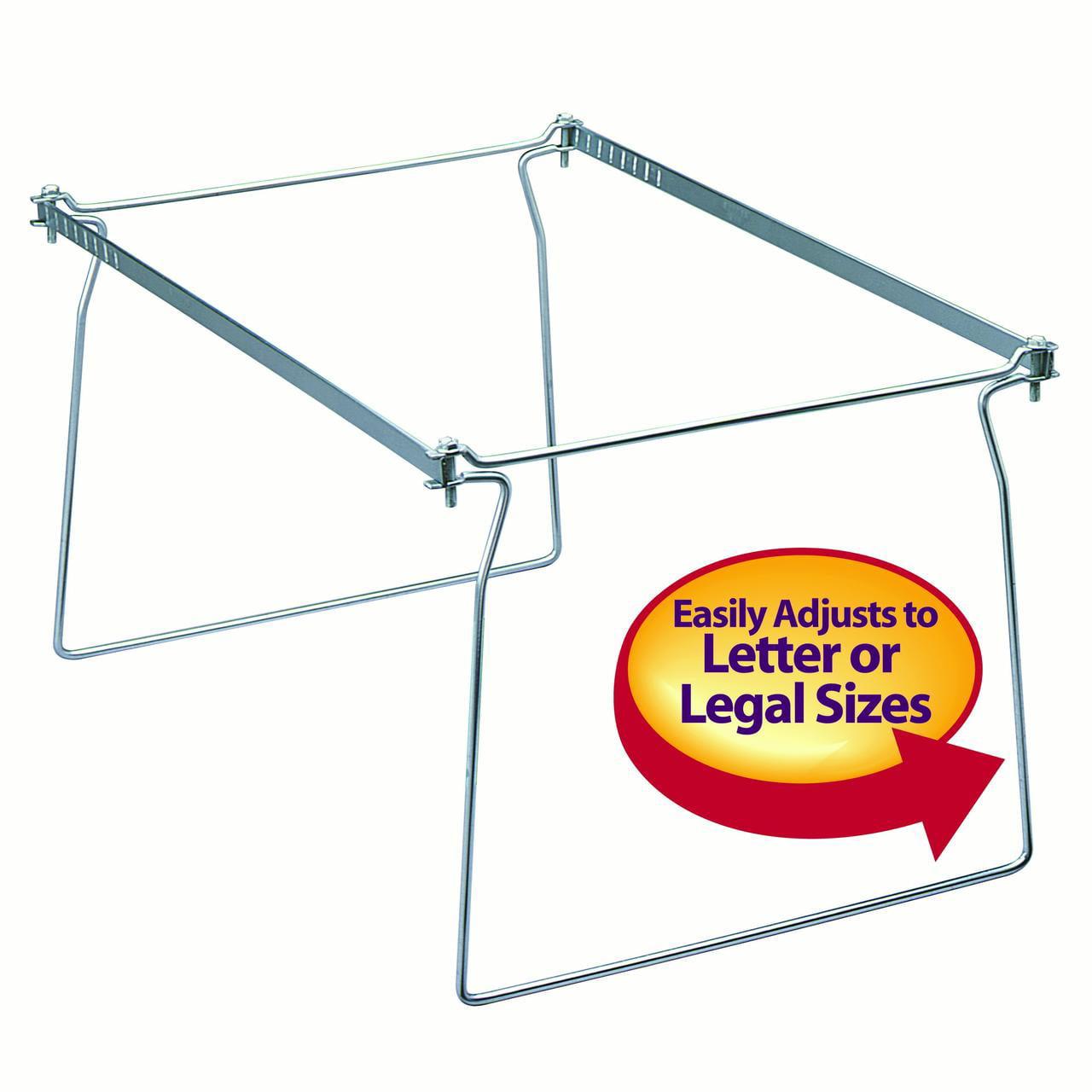 Smead Hanging File Frame, Letter Size, 2 Pack (64872)