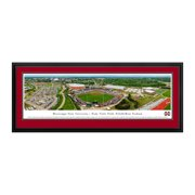 """Mississippi State Bulldogs 18"""" x 44"""" Team Deluxe Frame Panorama Wall Art - No Size"""