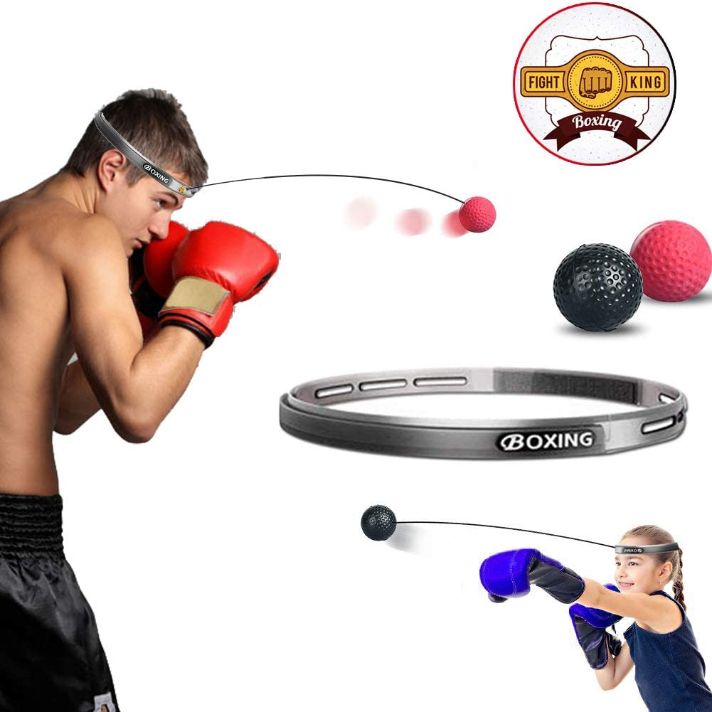 Boxing Punch Exercise Fight Ball With Head Band Gym Fitness Accessories For Men
