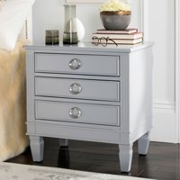 Safavieh Kira 3-Drawer Nightstand, Multiple Colors